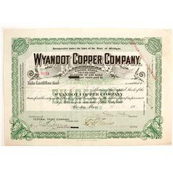 Wyandot Copper Stock  (89929)
