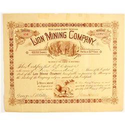 Lion Mining Company Stock  (77076)