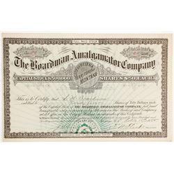 Boardman Amalgamator Company Stock  (90401)