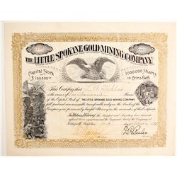 Little Spokane Gold Mining Company Stock  (77078)