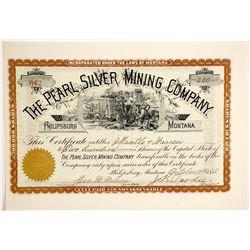 Pearl Silver Mining Company Stock  (77071)
