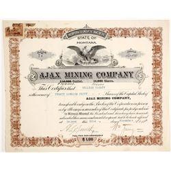Ajax Mining Company Stock  (90409)