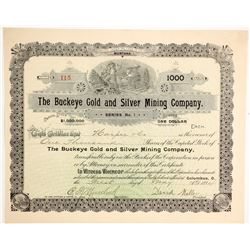 Buckeye Gold and Silver Mining Company Stock  (90412)