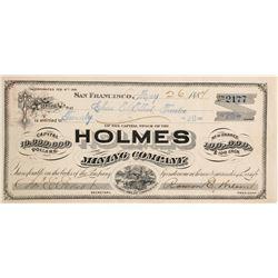 Holmes Mining Company Stock  (90513)