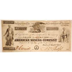 American Mining Co Stock  (89940)
