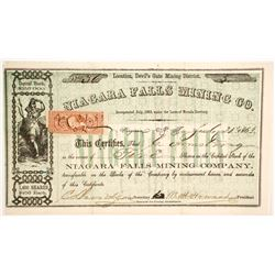 Niagara Falls Mining Company Stock  (89470)