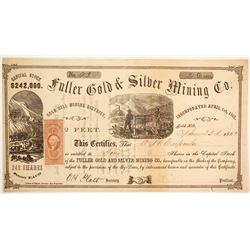 Fuller Gold & Silver Mining Company Stock  (89472)