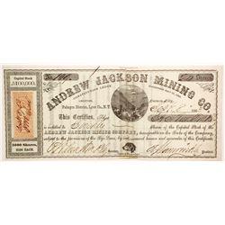 Andrew Jackson Mining Company Stock  (88146)