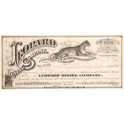Leopard Mining Company Stock  (90515)