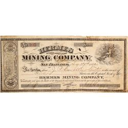 Hermes Mining Company - a G. T. Brown lithograph  (90514)