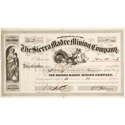 Sierra Madre Mining Company Stock  (82004)