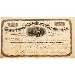Hoosac Consolidated Gold and Silver Mining Co  (77231)