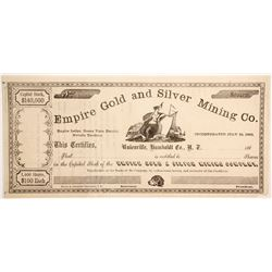 Empire Gold and Silver Mining Company  (88721)