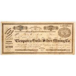 Cleopatra Gold & Silver Mining Company Stock  (88728)
