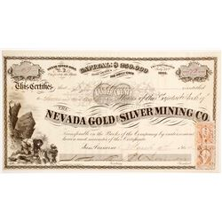 Nevada Gold and Silver Mining Company Stock  (88707)