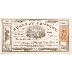 Kennedy Company Stock  (88727)