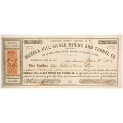 Osceola Hill Silver Mining and Tunnel Company  (88723)