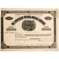 Southern Nevada Mining Company Stock  (89403)