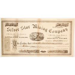 Silver Star Mining Company Stock  (88731)