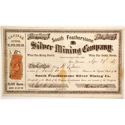 South Featherstone Silver Mining Company Stock  (88730)