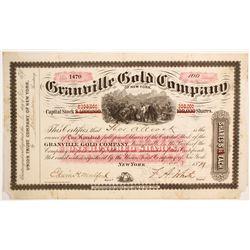 Ganville Gold Company Stock  (89458)