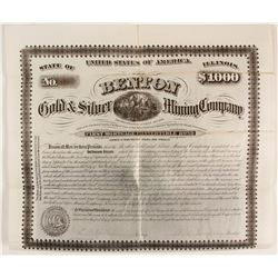 Benton Gold and Silver Mining Bond  (89354)