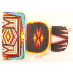 Three Paiute Beaded Purses (87712)