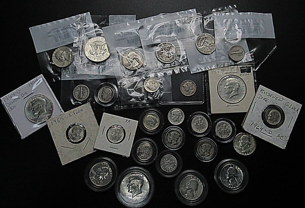 90% Silver Lot ($5 60 FACEVALUE)