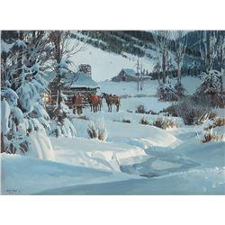 James Boren-Winter in Jackson Hole