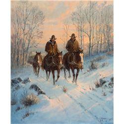 G. Harvey-Across Gentle Snow
