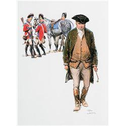 Tom Lovell-Paul Revere Illustration