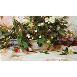 Richard Schmid-The White Begonias
