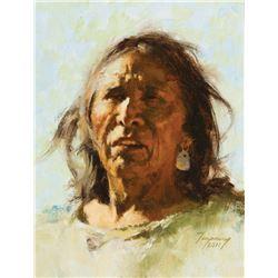 Howard Terpning-Portrait of an Elder