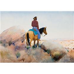 Gerard Curtis Delano-Lone Horseman