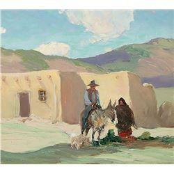 Oscar Berninghaus-Taos Indian Family