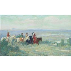 Bert G. Phillips-Riders in the Valley