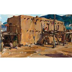 Nicolai Fechin-Taos Pueblo House
