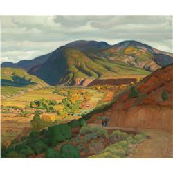 E. Martin Hennings-Across the Valley