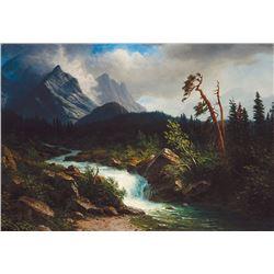 Albert Bierstadt-Western Landscape