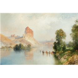 Thomas Moran-Castle Rock, Green River, WY