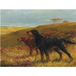 Thomas Blinks-Hunting Dog