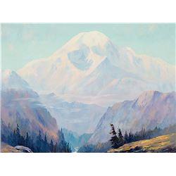 Jules Bernard Dahlager-Mount McKinley Alaska