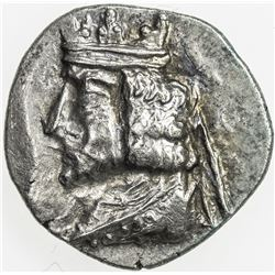 PERSIS KINGDOM: Second unknown king, ca. 50-100 AD, AR hemidrachm (1.37g), Alram-621, VF-EF
