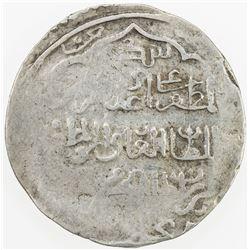 CHAGHATAYID KHANS: Qazan Timur, 1343-1346, AR dinar (7.82g), Bukhara, AH(74)5. VF