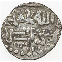 GOLDEN HORDE: Muhammad Uzbek, 1312-1341, AR dirham, Saray al-Mahrusa, AH(73)4. VF