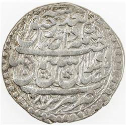 SAFAVID: Sulayman I, 1668-1694, AR abbasi (7.27g), Tabriz, AH1081, A-2659, type A, VF