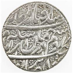 ZAND: Karim Khan, 1753-1779, AR 2 abbasi (9.11g), Kashan, AH1182. EF