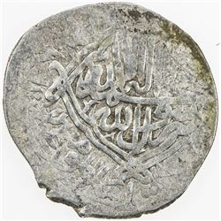 SHAYBANID: 'Abd al-Amin, 1598-1599, AR tanka (4.59g), MM, DM. VF
