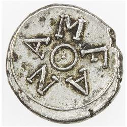 CEYLON: AR fanam token (0.54g), ND (1814-15). EF