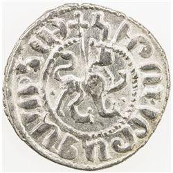 ARMENIA: Hetoun I, 1226-1270, AR tram, NM, ND. EF